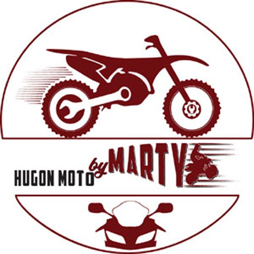 Logo HUGON MOTO BY MARTY